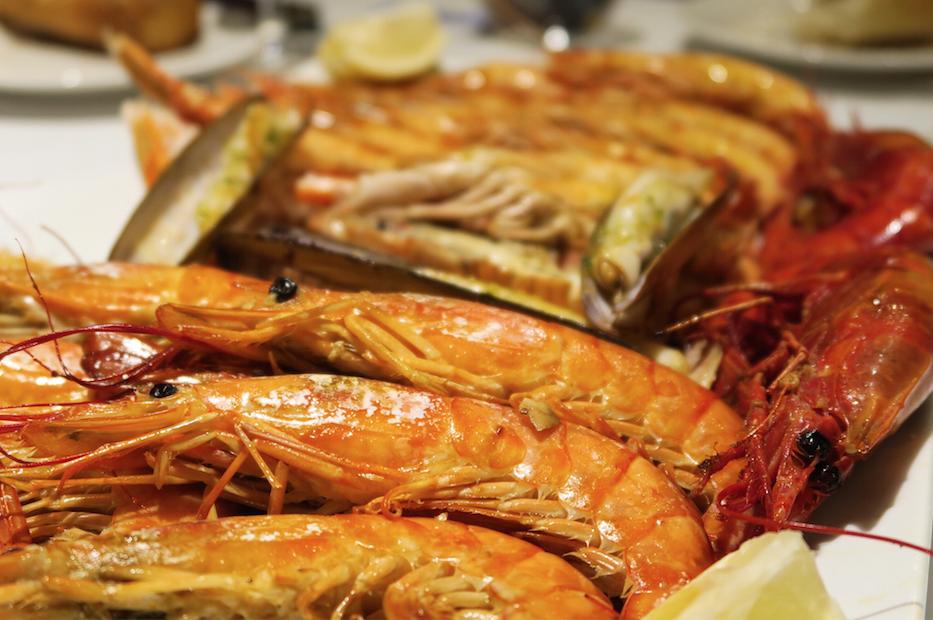 Protocolo para comer marisco