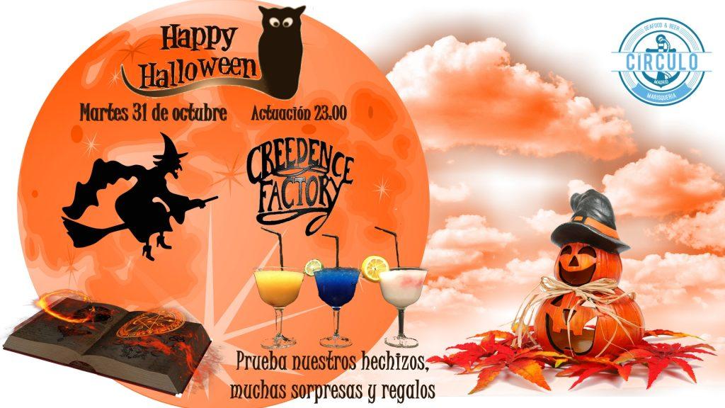 Disfruta de Halloween con nosotros