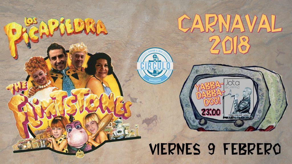 Carnaval 2018 con Los Picapiedra #CirculoMusicDay