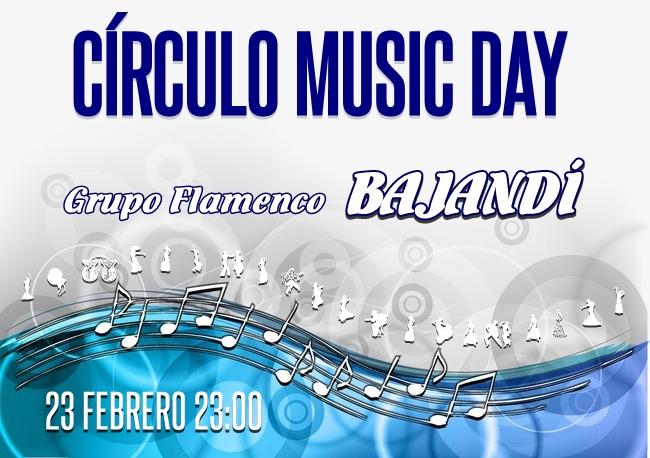 Circulo Music Day Febrero
