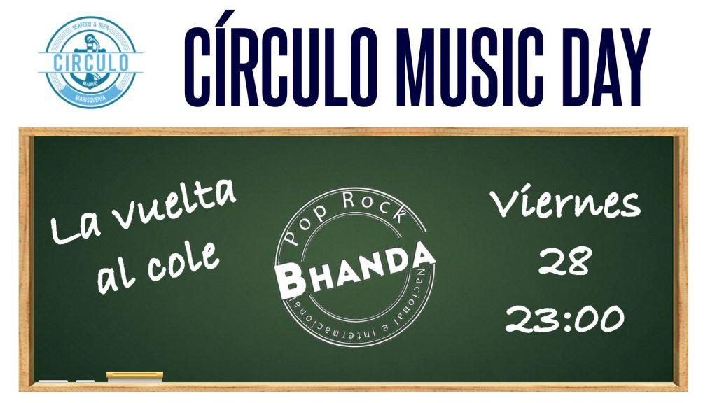 Vuelta al Cole Circulo Music Day  ¡Bienvenido otoño!
