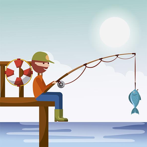 El origen de la pesca