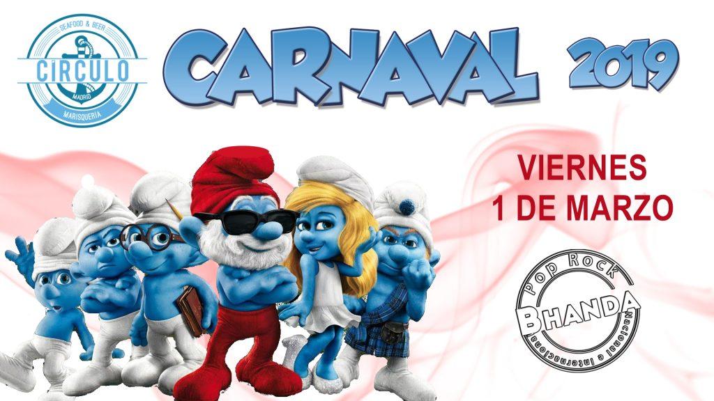 Carnaval 2019 con Los Pitufos #CirculoMusicDay