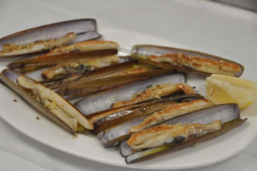 Las navajas, un alimento con grandes beneficios nutricionales