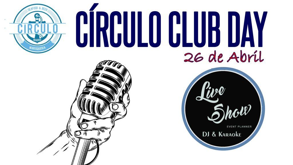 Circulo Music Day Abril 2019