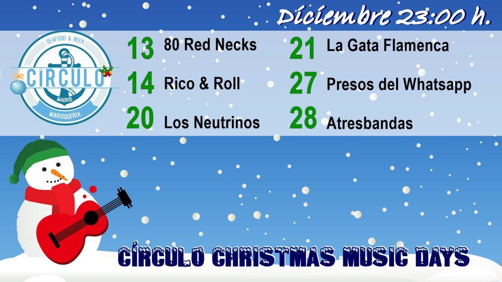 Circulo Music Day Navidad 2019