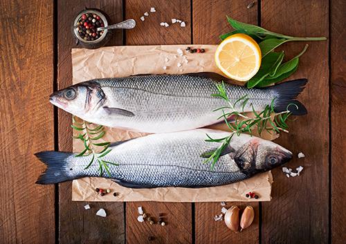 Los diferentes cortes del pescado