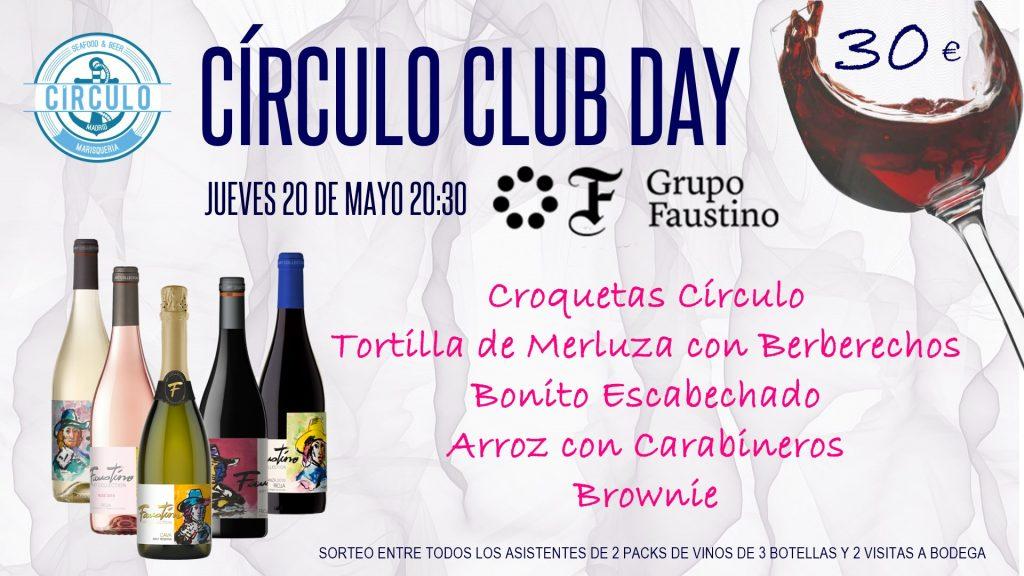 Próximo #CirculoClubDay Mayo 2021 con Faustino